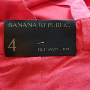 Banana Republic Shorts - NWT Banana Republic Avery Short
